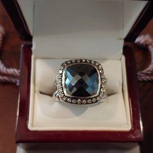 David Yurman Hematite Albion Cocktail Ring
